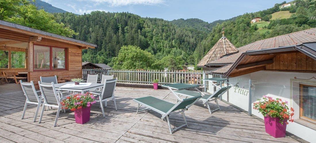 Varietà e comfort durante le vacanze in agriturismo biologico in Alto Adige